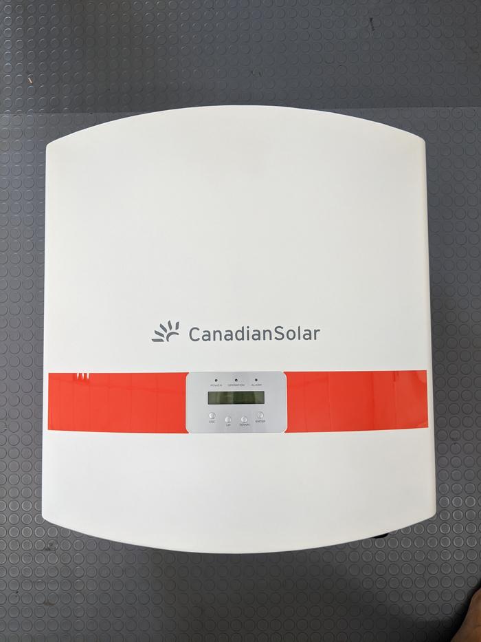 Inverter hòa lưới cho hệ thống điện mặt trời Canadian 50 kW 13
