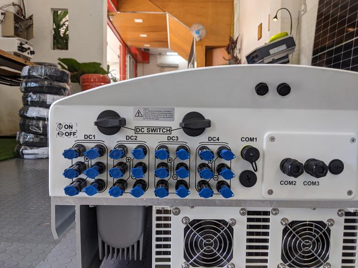 Inverter hòa lưới cho hệ thống điện mặt trời Canadian 50 kW 6