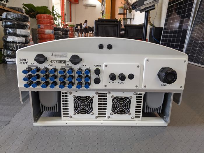 Inverter hòa lưới cho hệ thống điện mặt trời Canadian 50 kW 8