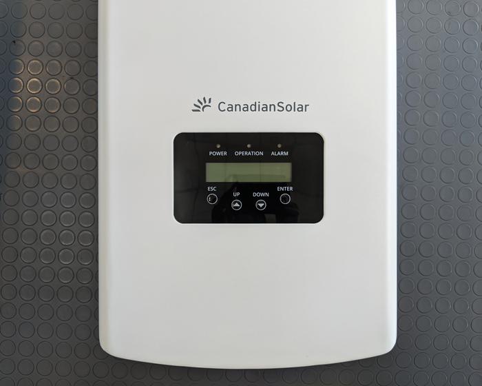 Inverter năng lượng mặt trời Canadian công suất 20kW 11