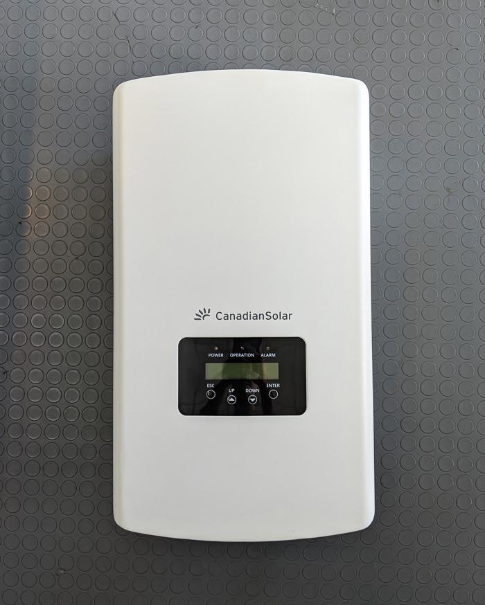 Inverter năng lượng mặt trời Canadian công suất 20kW 12