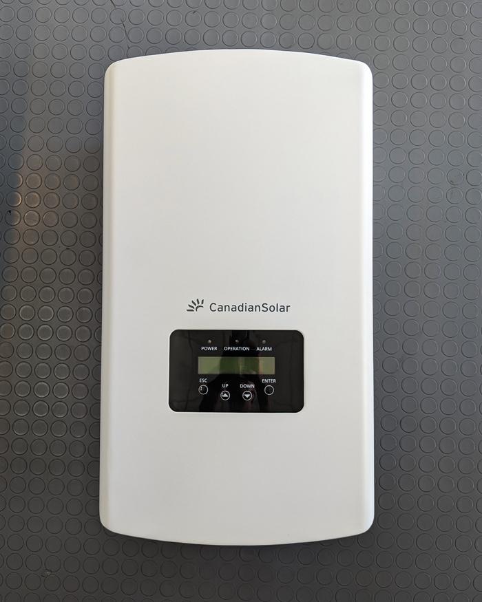 Inverter năng lượng mặt trời Canadian công suất 20kW 14
