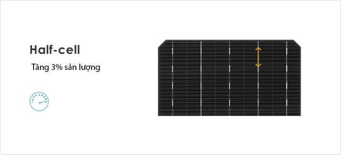 Công nghệ half-cell xuất hiện trong tấm pin Jinko Solar là gì? 3