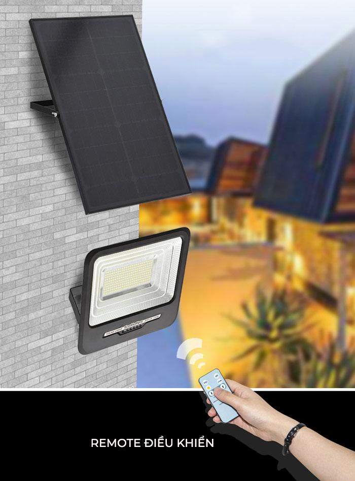 Đèn pha sử dụng năng lượng mặt trời 300W - GV9300 4