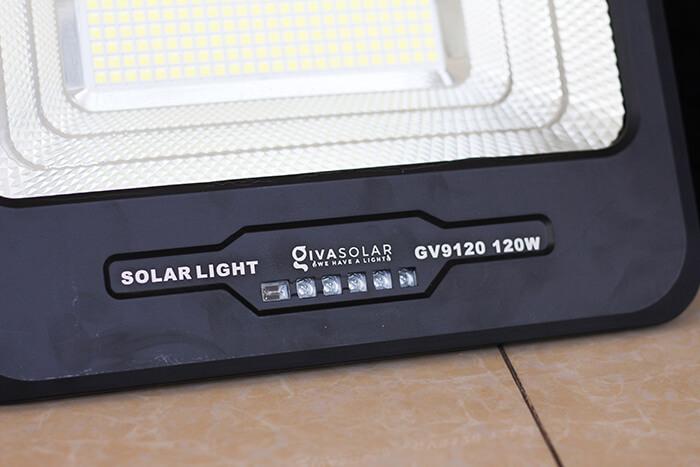 Đèn pha năng lượng mặt trời công suất 120W - GV9120 giá cực tốt 8