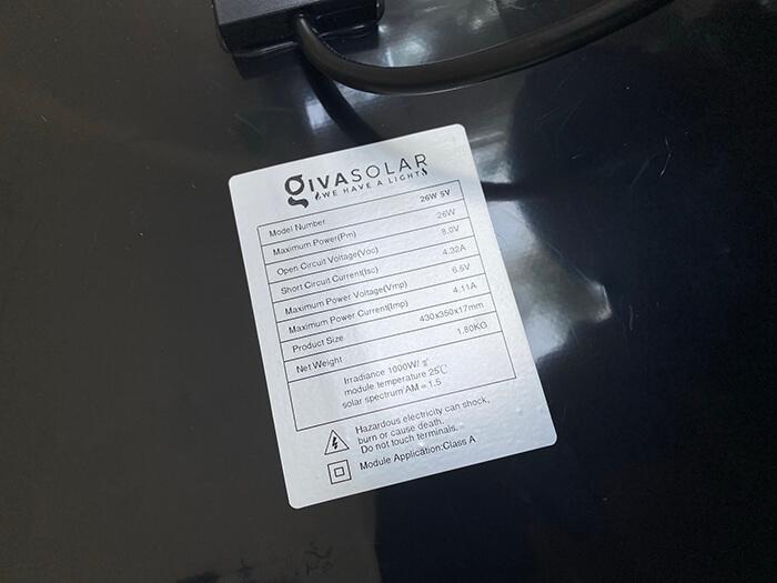 Đèn pha năng lượng mặt trời công suất 120W - GV9120 giá cực tốt 16