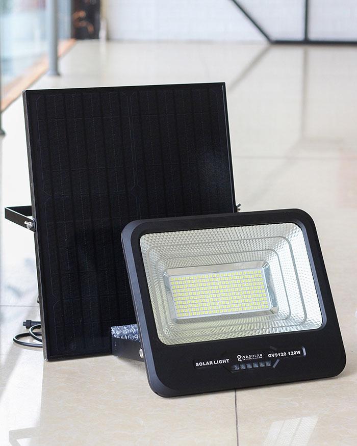 Đèn pha năng lượng mặt trời công suất 120W - GV9120 giá cực tốt 2