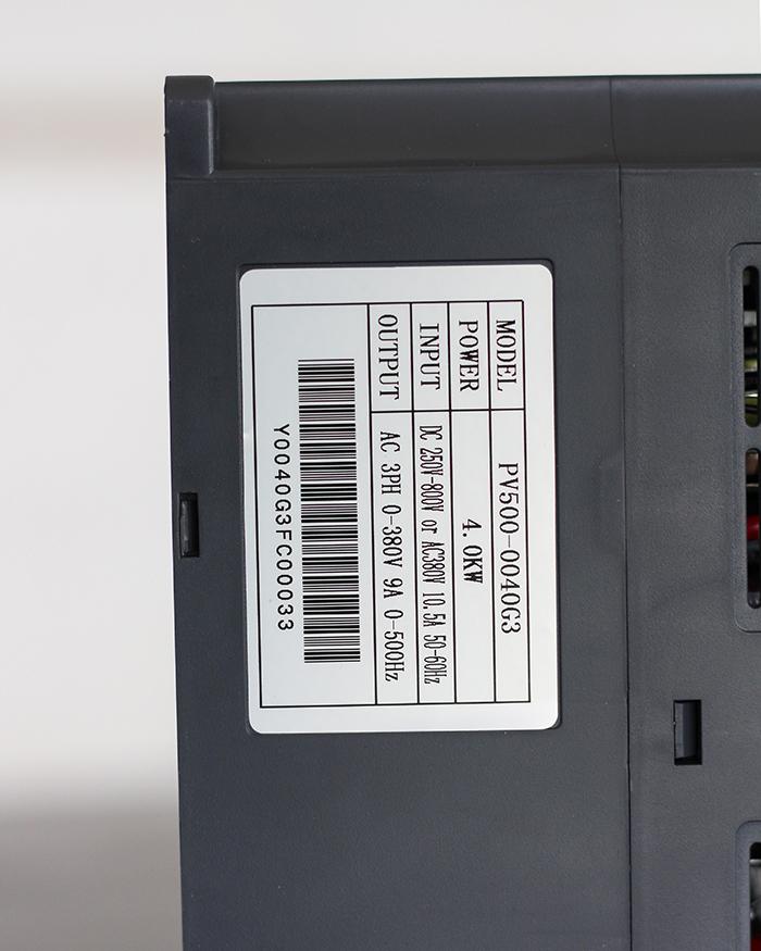 Inverter bơm nước năng lượng mặt trời PV500-0040G3 (4kW) 10