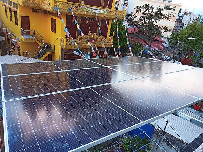 Hoàn thiện lắp đặt điện mặt trời 6.4 kWp tại Gò Vấp 1