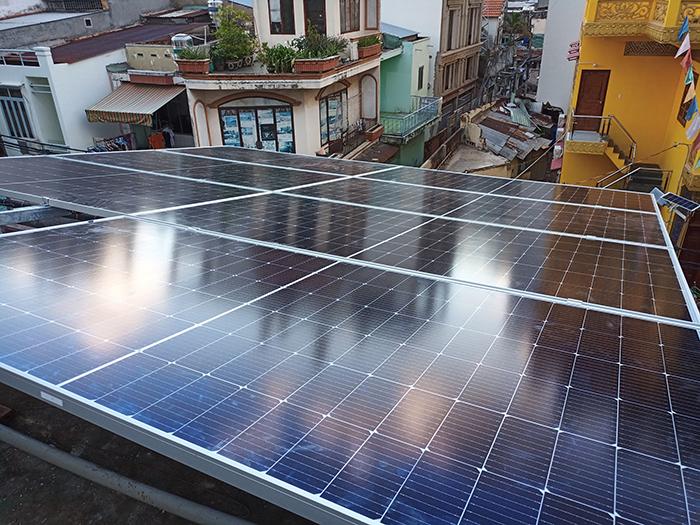 Hoàn thiện lắp đặt điện mặt trời 6.4 kWp tại Gò Vấp 2