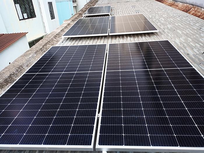 Hoàn thiện lắp đặt điện mặt trời 6.4 kWp tại Gò Vấp 3