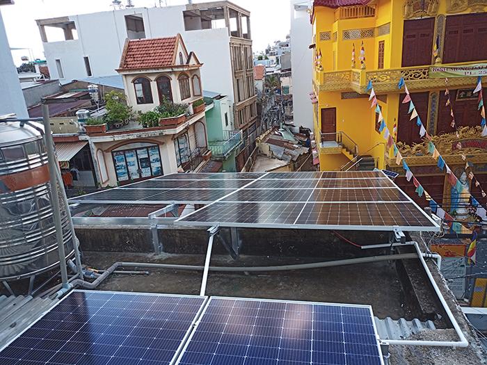 Hoàn thiện lắp đặt điện mặt trời 6.4 kWp tại Gò Vấp 4
