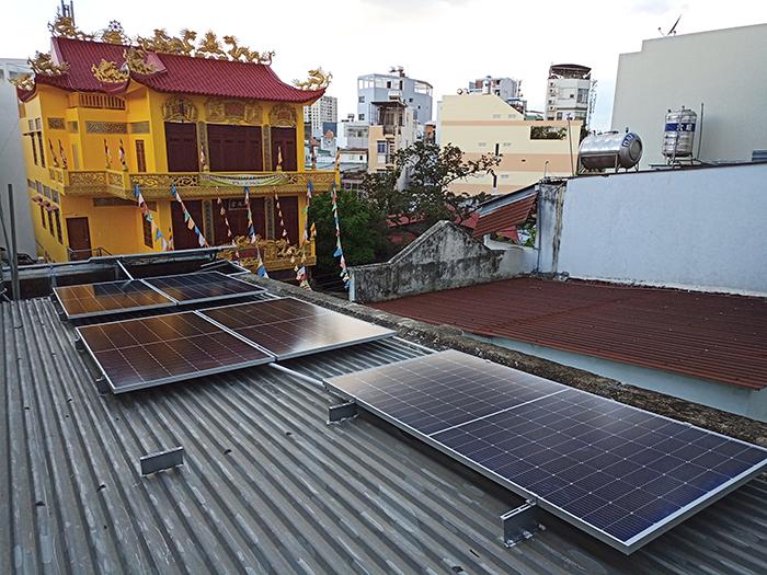 Hoàn thiện lắp đặt điện mặt trời 6.4 kWp tại Gò Vấp 7