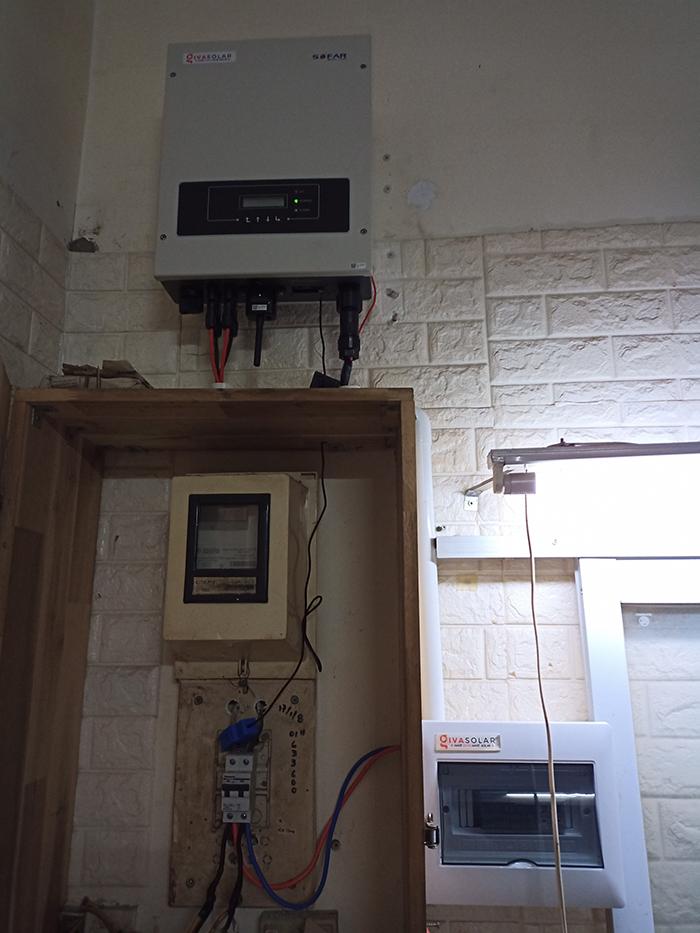 Hoàn thiện lắp đặt điện mặt trời 6.4 kWp tại Gò Vấp 8