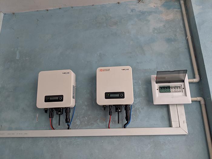 Lắp đặt điện mặt trời công suất 7.5 kWp tại quận 9 14