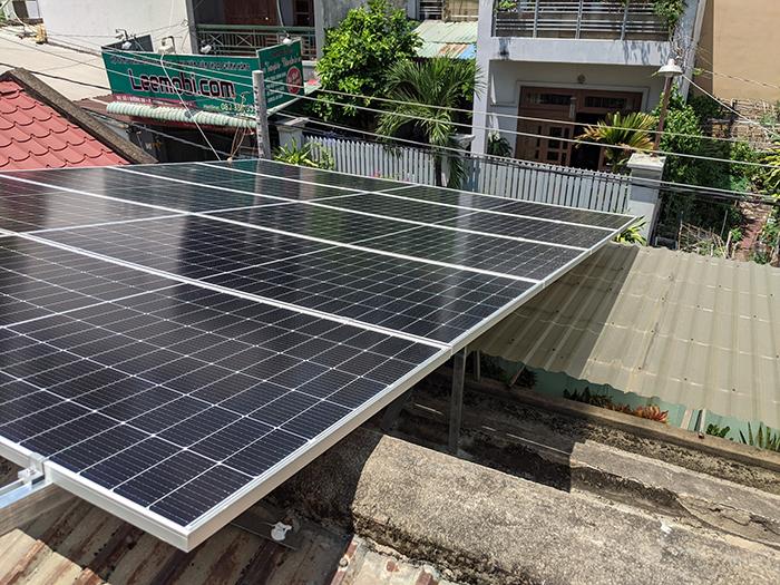 Lắp đặt điện mặt trời công suất 7.5 kWp tại quận 9 5