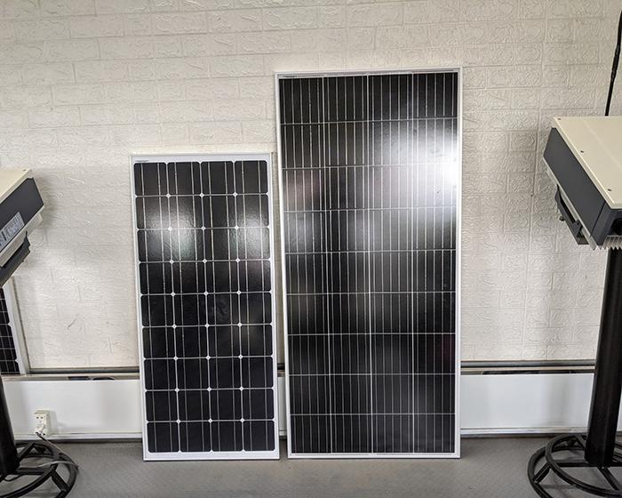 Tấm pin năng lượng mặt trời công suất 170W 12