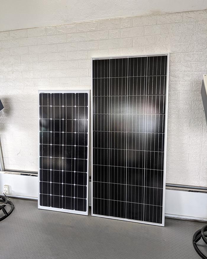 Tấm pin năng lượng mặt trời công suất 170W 13