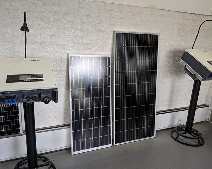 Tấm pin năng lượng mặt trời công suất 170W 14