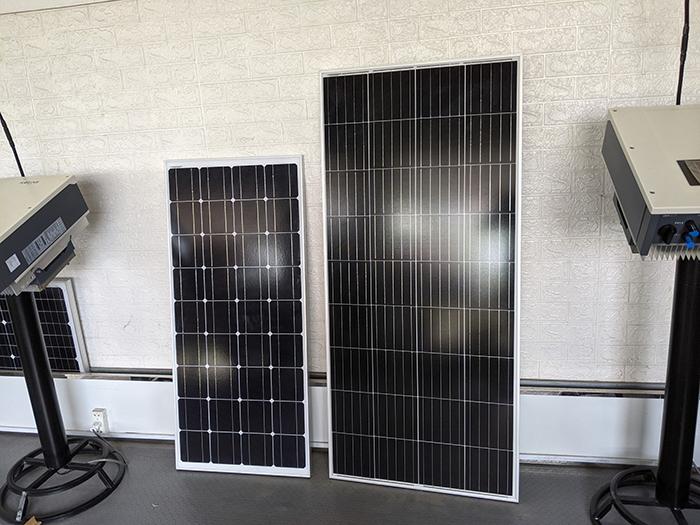 Tấm pin năng lượng mặt trời công suất 170W 2
